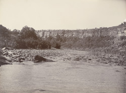 Chumbal River showing the Kerai, [Kota]